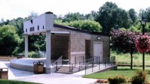 Architectural Design -Cook Park Amphitheater: Colonie, New York