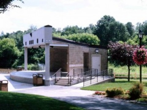 Architectural Design -Cook Park Amphitheater: Colonie, New York