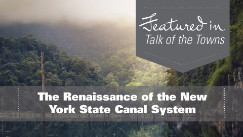 The Renaissance of the New York State Canal System