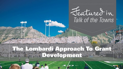 The Lombardi Approach To Grant Writing & Development