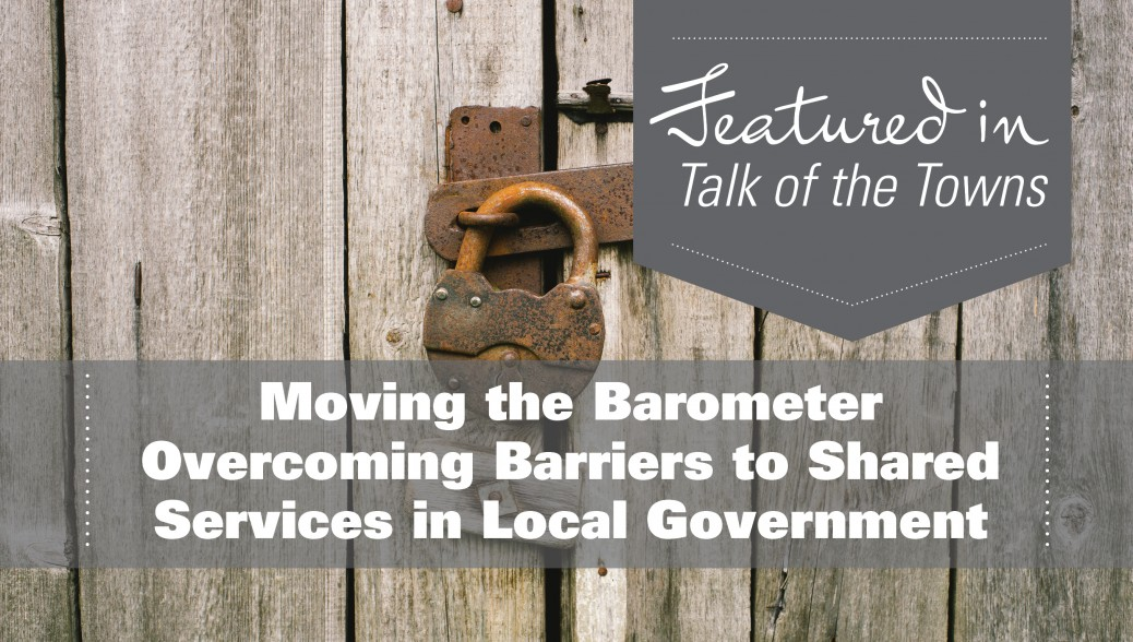 Overcoming Barriers in Local Government
