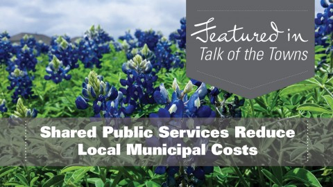 Shared Public Services Reduce Local Municipal Costs