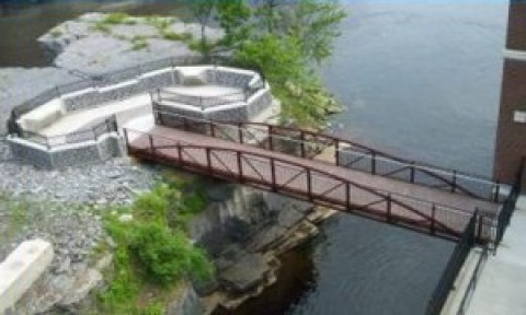 Cooper's Cave Island Access & Pedestrian Bridge – Village of South Glens Falls, New York