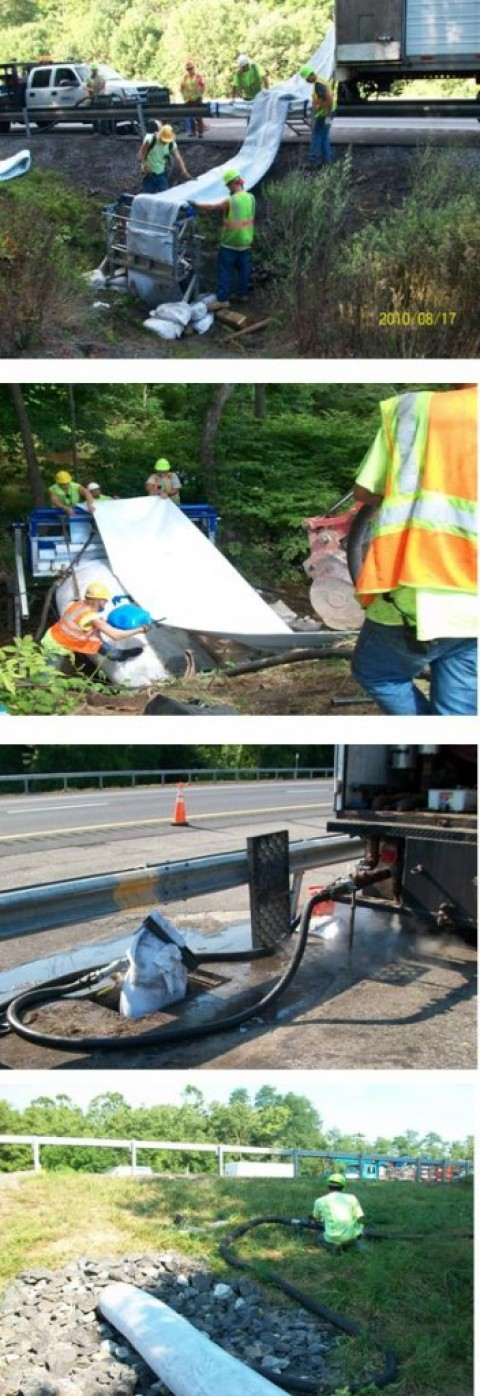 Cured in Place Culvert Lining – Albany Division. Exit 18 to 19 New York State Thruway Authority