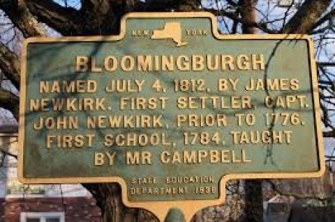 Dissolution Plan. Village of Bloomingburg, New York