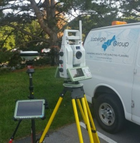 Laberge Group Survey Adds Laser Scanning