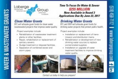 Grant Alert: $255 Million in Water & Wastewater Grants Available