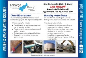 Water & Wastewater Grants Avilable