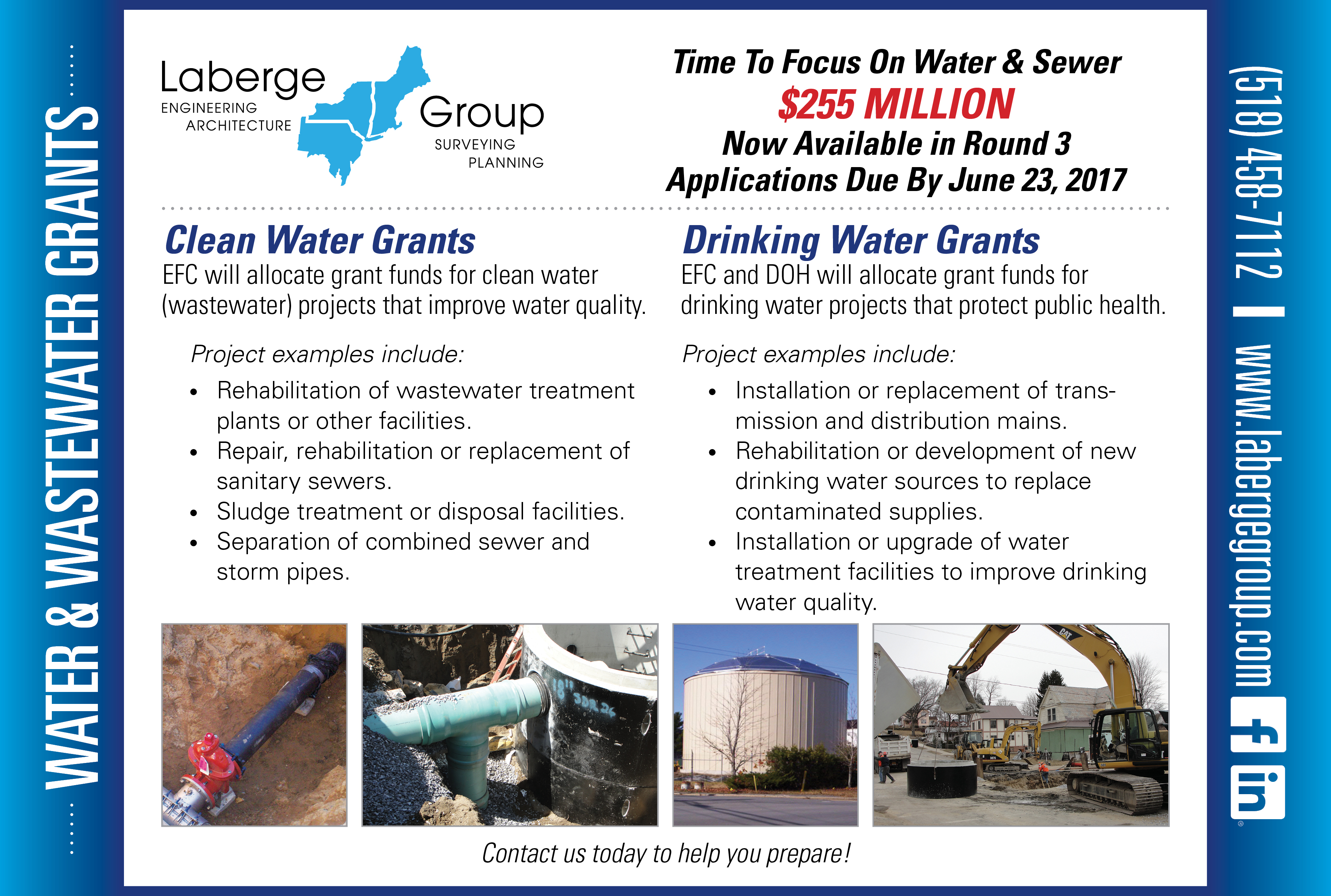grant alert 255 million in water wastewater grants available
