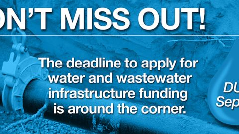 Funding Alert: $275 Million in Grants for Wastewater Infrastructure