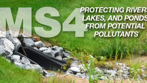 MS4 Compliance – Working with the Town of Sand Lake to Protect Waterways