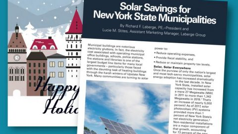 Solar Savings for New York State Municipalities