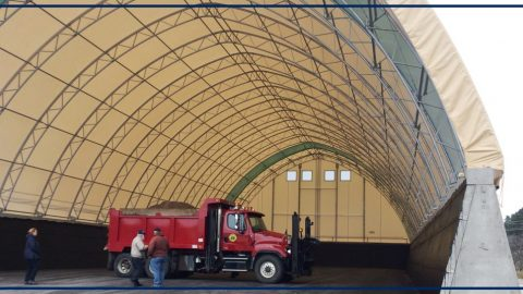 New Sand and Salt Shed in Boonville, NY will Protect Local Waterway and Municipal Water Source