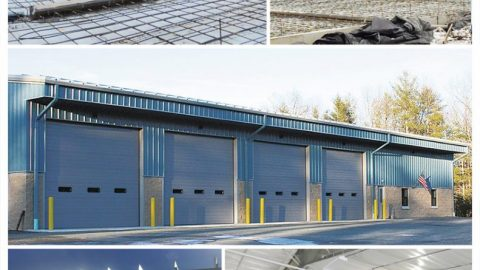 Environmentally Responsible Highway Department Garage Completed for Town of Highland, NY
