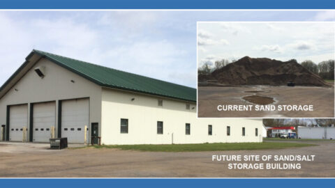 New Sand and Salt Storage Building for the Town of Annsville, NY