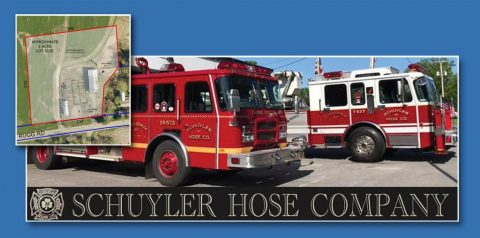 Laberge Group Retained to Provide Site Plan, Survey, and Building Design Services to the Schuyler Hose Company to serve the Town of Northumberland, NY