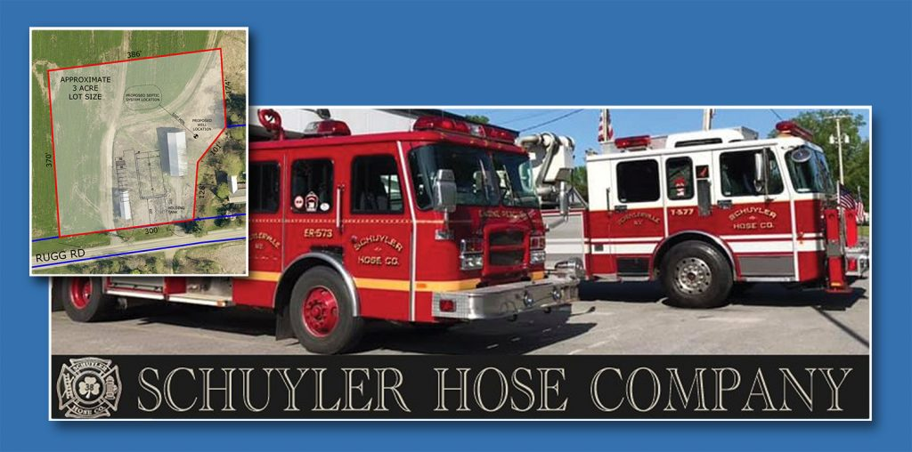 Site Plan, Survey, and Design Services for the Schuyler Hose Company, NY
