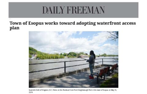 Town of Esopus, NY Reviews Waterfront Access Plan