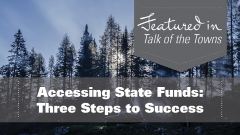 Accessing State Funds: Three Steps to Success