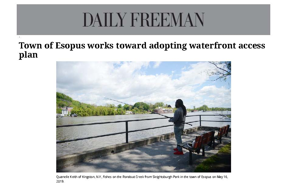 Esopus Riverfront Access Plan