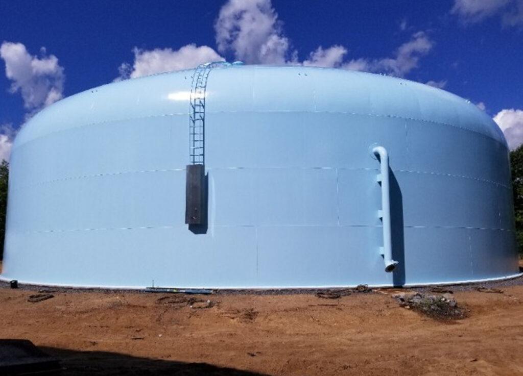 New York 2 million gallon water storage tank