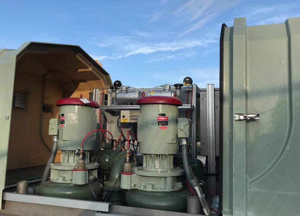 wastewater pump station new york state