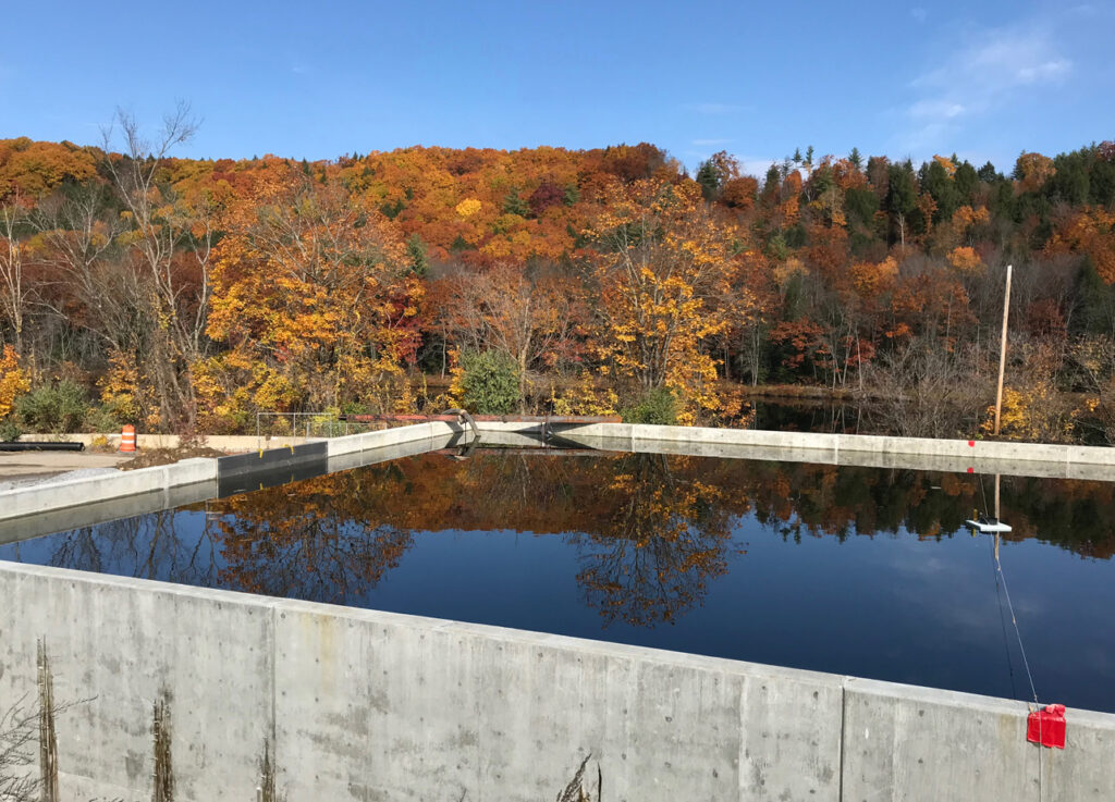 wastewater treatment plant new york 2020