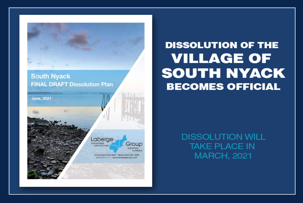 Village Dissolution of South Nyack, NY becomes official